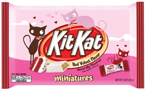 Kit Kat Red Velvet Miniatures