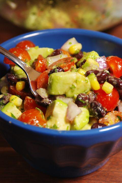 Guacamole Salad Vertical