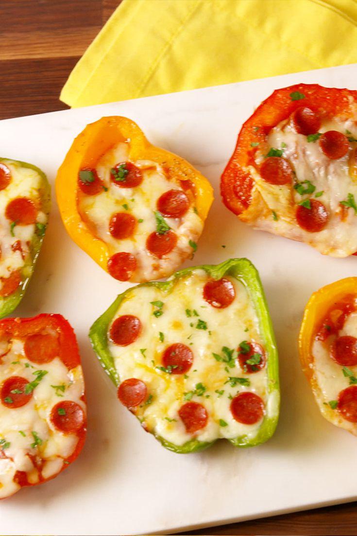 Mini Pepper Pizzas