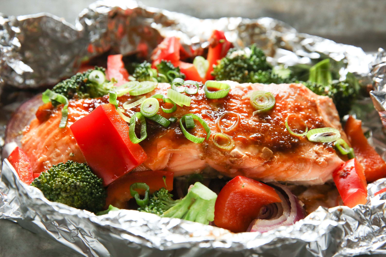 Best Salmon Foil Packs Recipe How To Make Foil Packs Delish Com
