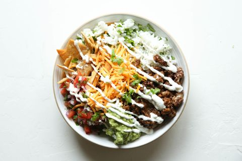 Loaded Burrito Bowls Horizontal