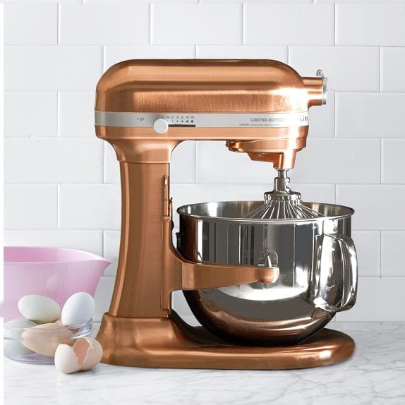 metallic aid crate series stand and barrel kitchenaid mixer copper kitchen reviews