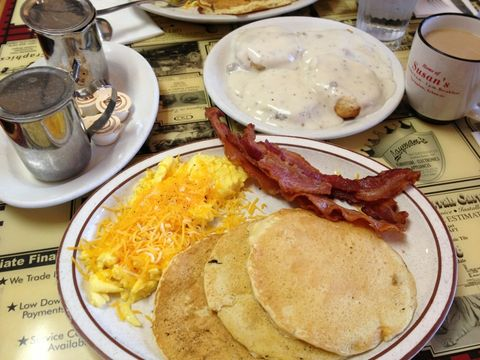 Dish, Food, Cuisine, Meal, Breakfast, Ingredient, Full breakfast, Brunch, Produce, Hash browns,