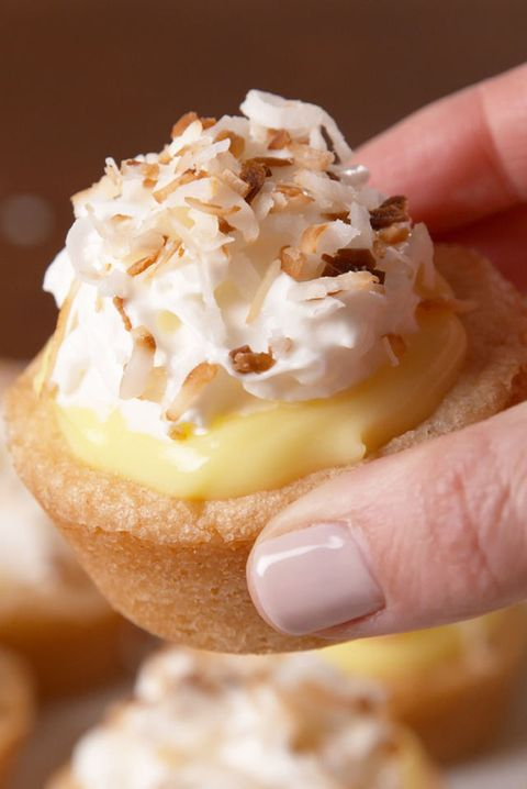K'Mich Weddings - wedding planning - dessert ideas - coconut cream cups - delish.com