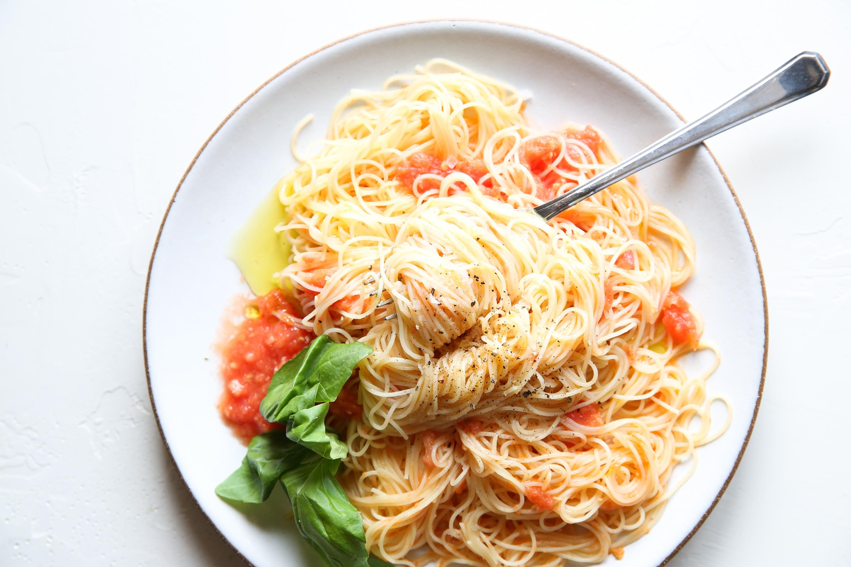 Best Angel Hair Pasta Pomodoro Recipe How To Make Pasta Pomodoro