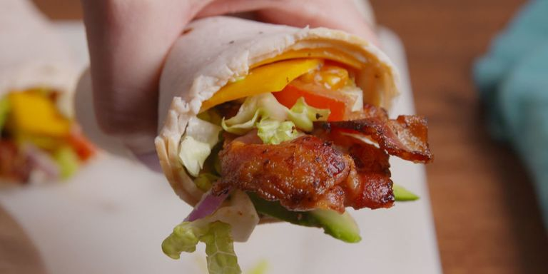 50 easy wrap recipes ideas for sandwich wrapsdelish jonathan boulton forumfinder Images