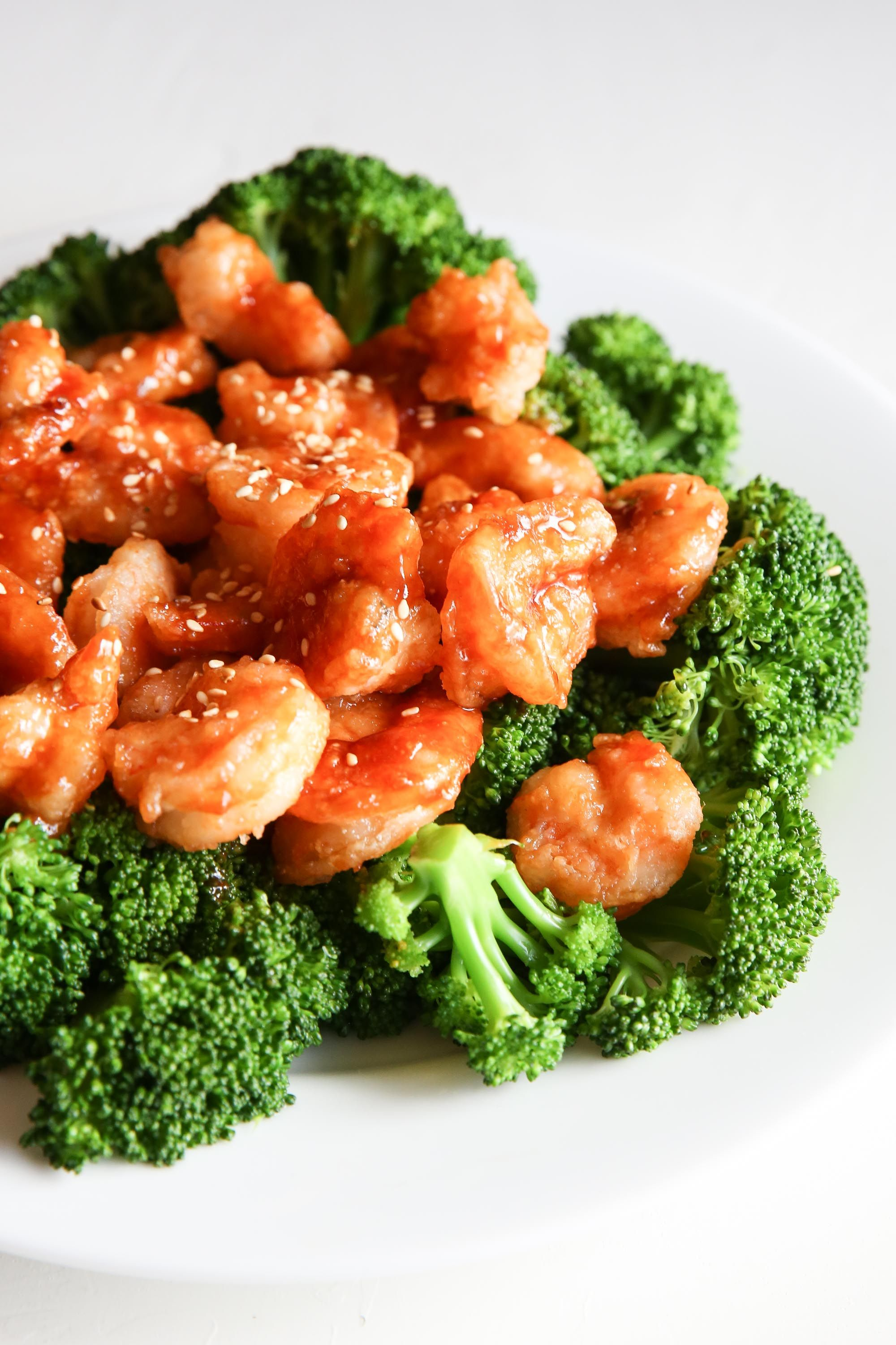 General Tso's Shrimp Vertical