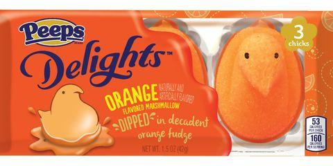 Peeps Orange Delight Marshmallows 2017