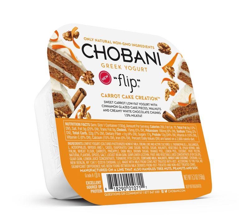 Chobani Flip Carrot Cake