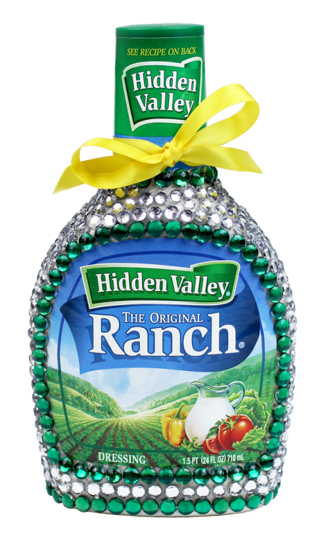 Bejeweled Ranch Bottle