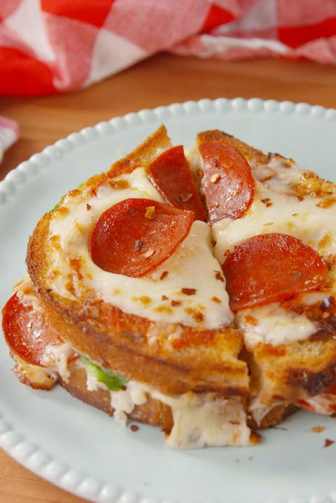 Best Pizza Grilled Cheese Recipe How To Make Pizza