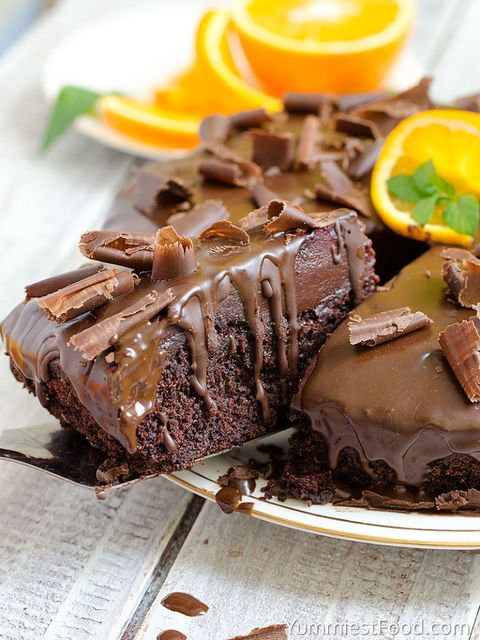 Dish, Food, Cuisine, Chocolate cake, Ingredient, Chocolate brownie, Chocolate, Dessert, Frozen dessert, Baked goods,