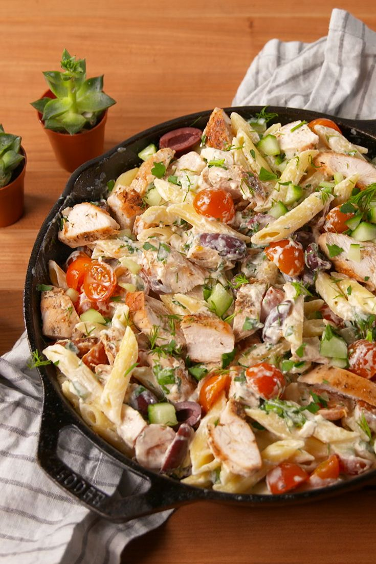 30 Easy Chicken Pasta Recipes Light Pasta Dishes With Chicken And