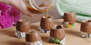 Cadbury Creme Egg Shots