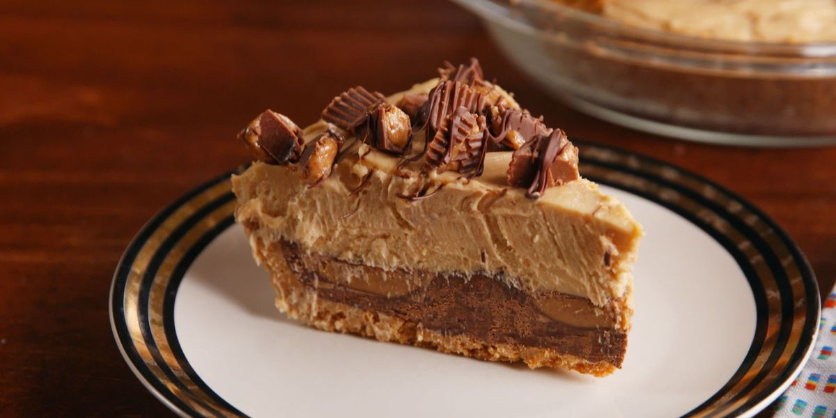 Best Reese S Stuffed Pie Recipe How To Make Reese S