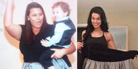 erica lugo 160-pound weight loss
