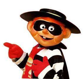 Vintage McDonald's Characters Hamburglar