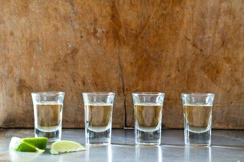 tequila, shots