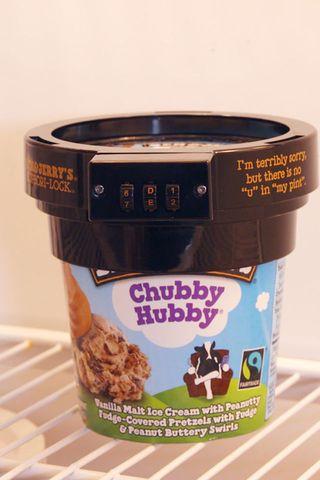 Ice cream lock
