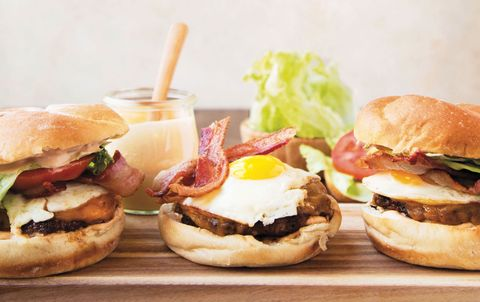 The Breakfast Burger Horizontal