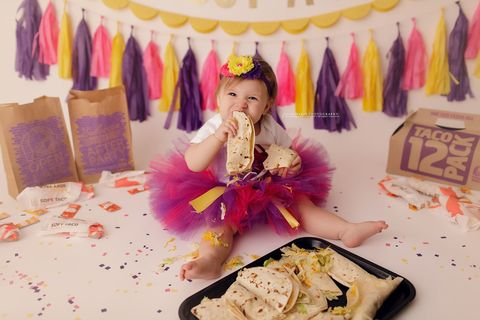 Pink, Yellow, Sweetness, Textile, Photography, Food, Child, Party,