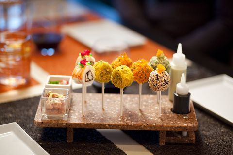 Celebrity Cruises Sushi Lollipops