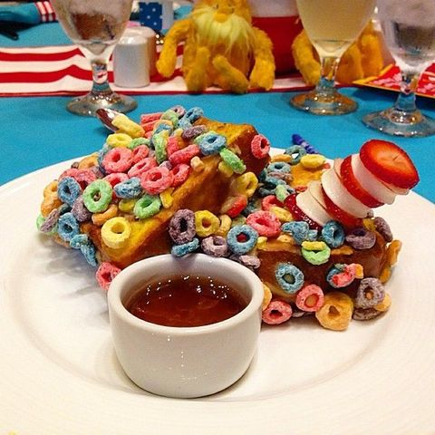 Carnival Cruise Line Froot Loop French Toast