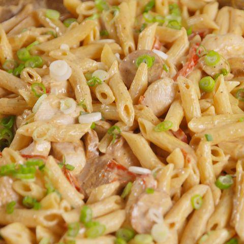 Best Cajun Chicken Sausage Alfredo Recipe Delish