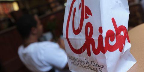 Chick-fil-A bag