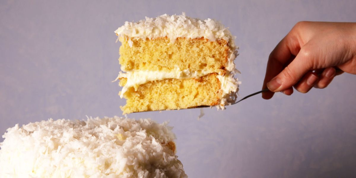 Best Coconut Layer Cake Recipe How To Make Coconut Cake