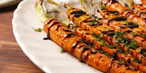 70 easy easter side dishes recipes for easter dinner sides balsamic glazed carrots forumfinder Image collections