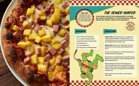 Teenage mutant ninja turtles pizza cookbook delish the sewer surfer teenage mutant ninja turtles forumfinder Image collections