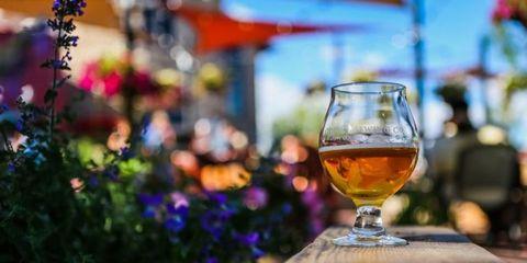 Drink, Wine glass, Stemware, Alcoholic beverage, Sky, Distilled beverage, Liqueur, Drinkware, Glass, Wine,