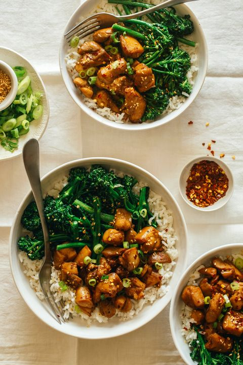 Spicy Chicken Teriyaki Bowls