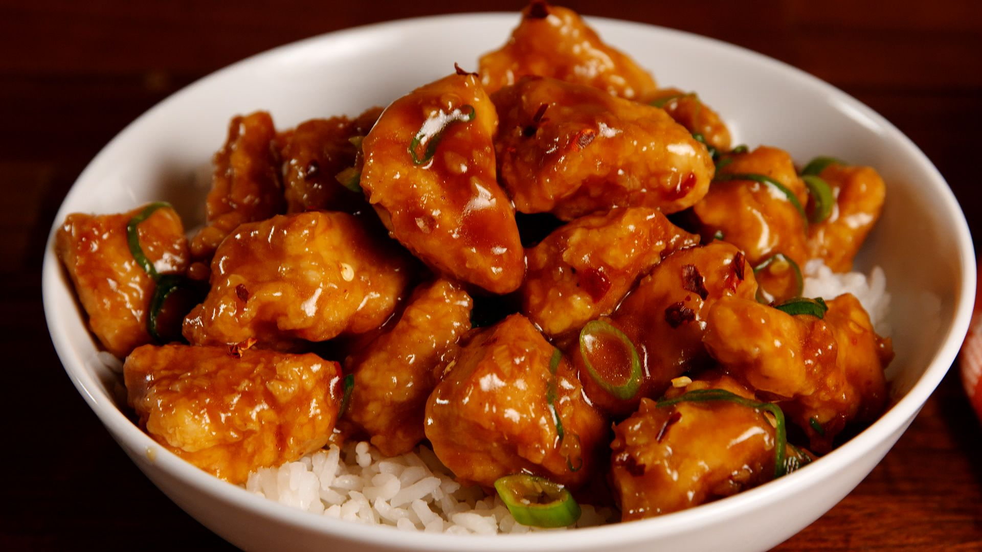 Best Sticky Orange Chicken Recipe How To Make Sticky Orange Chicken