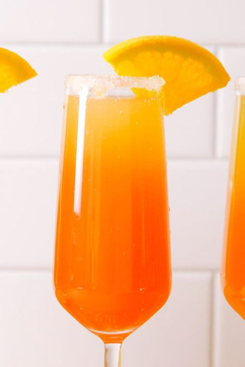 Tequila Sunrise Mimosa Vertical