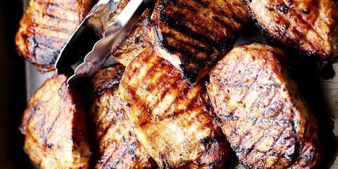 Food, Dish, Cuisine, Pork chop, Ingredient, Meat, Pork steak, Roasting, Grilling, Churrasco food,