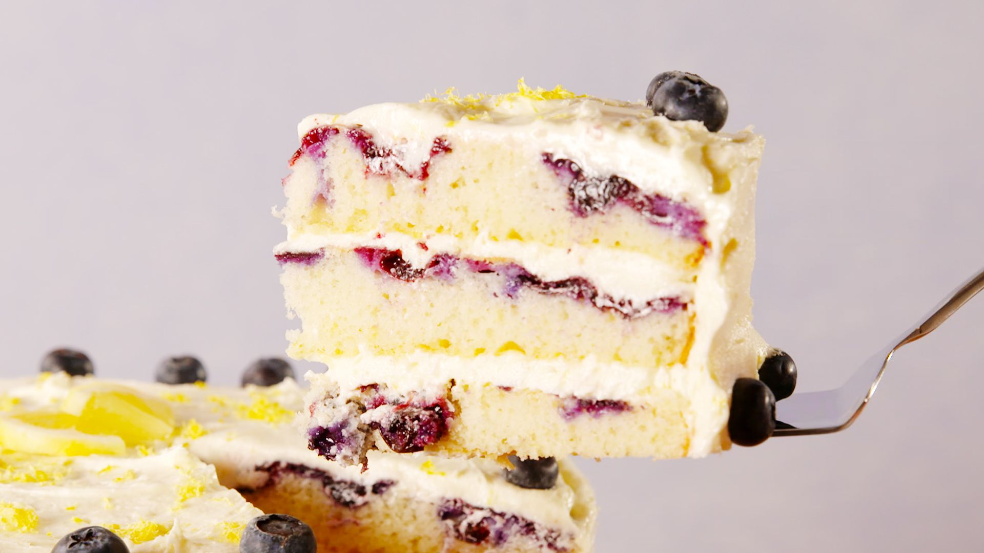Blueberry Cake Using Cake Mix