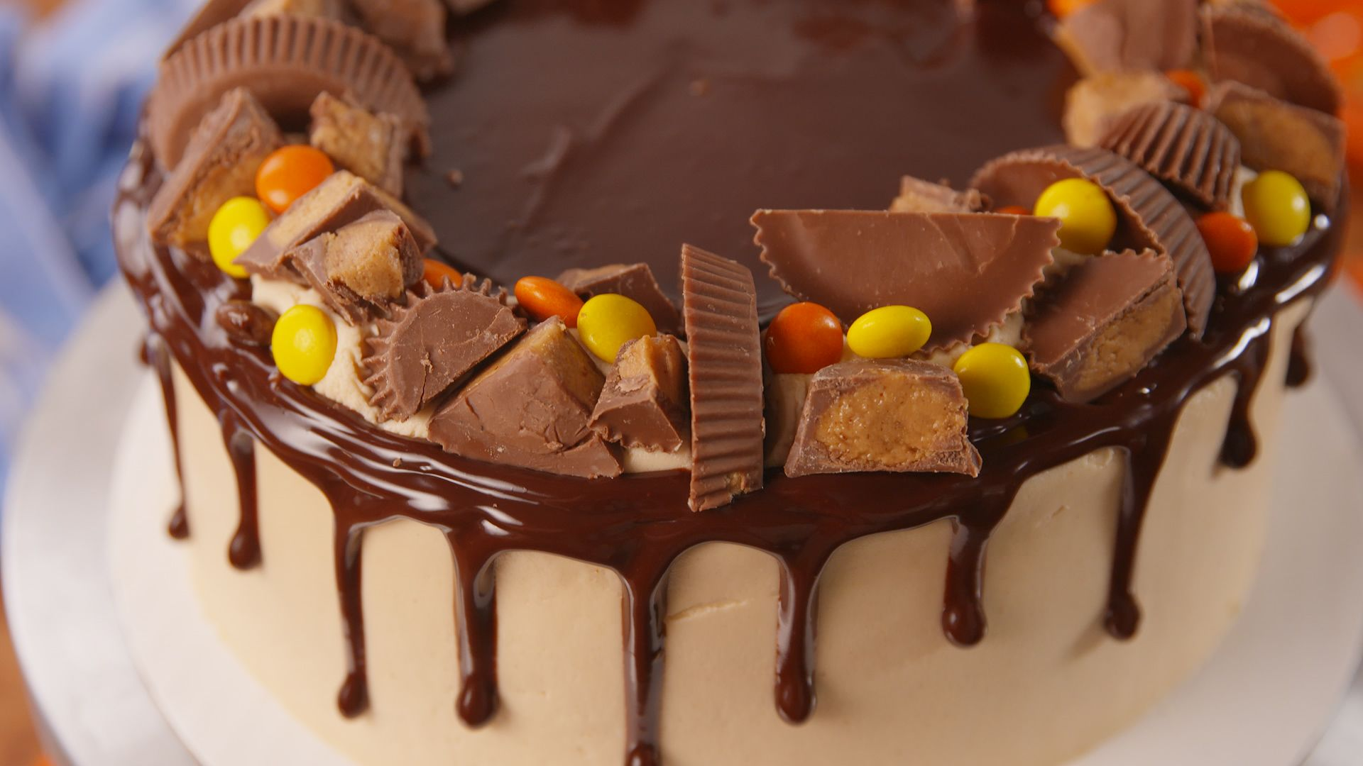 Best Reeses Explosion Cake Recipe How To Make Make Reeses