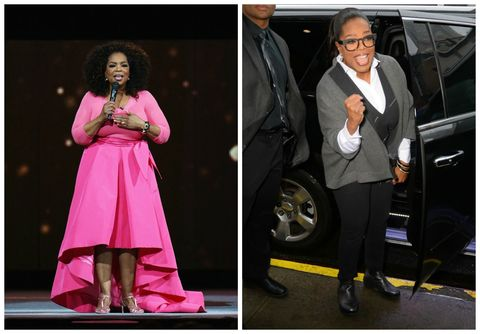 Oprah Winfrey Before/After