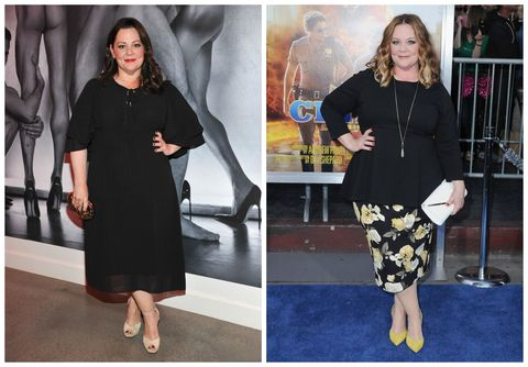 Melissa McCarthy Before/After