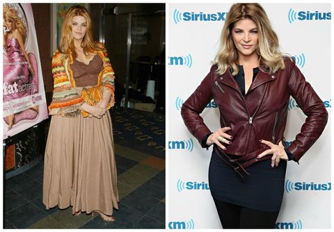 Kirstie Alley Before/After