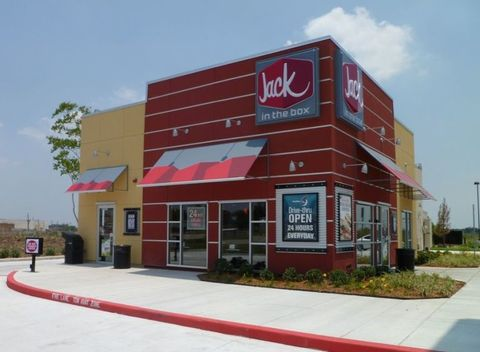 jack in the box exterior