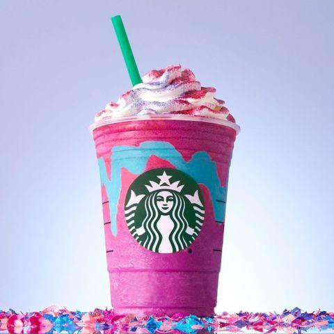 Pink, Drinking straw, Food, Floats, Straw, Milkshake, Drink, Dessert,