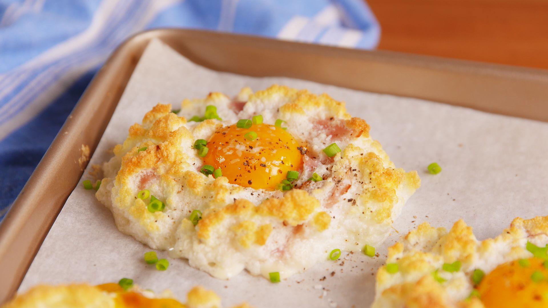 Cloud Eggs Look Crazy And Taste Heavenly