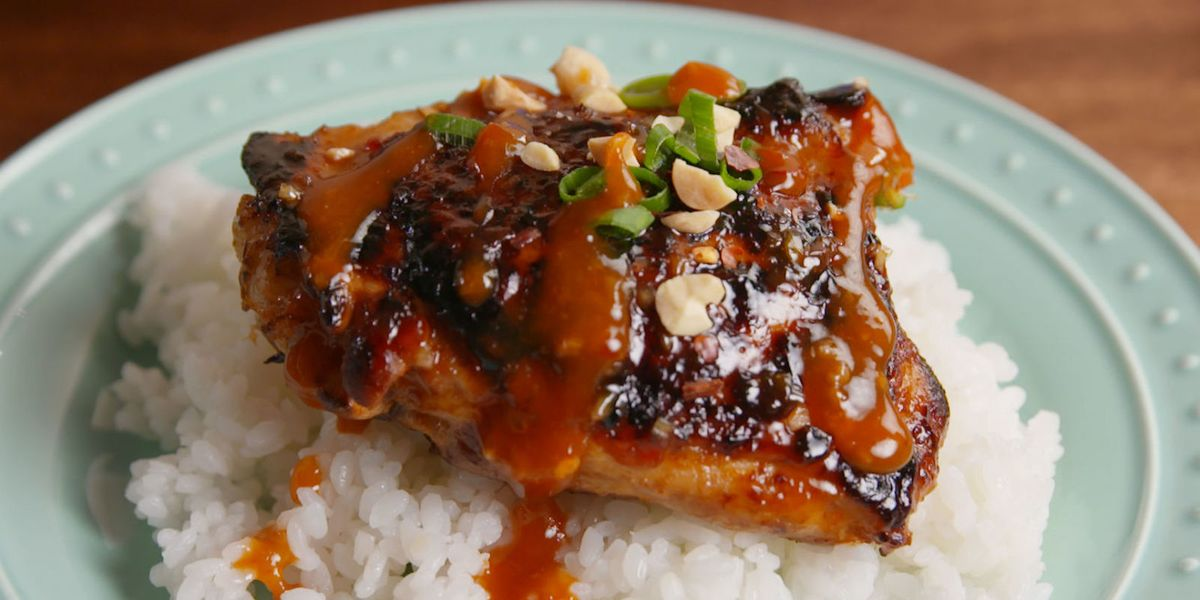 Best Thai Glazed Chicken Recipe How To Make Thai Glazed Chicken