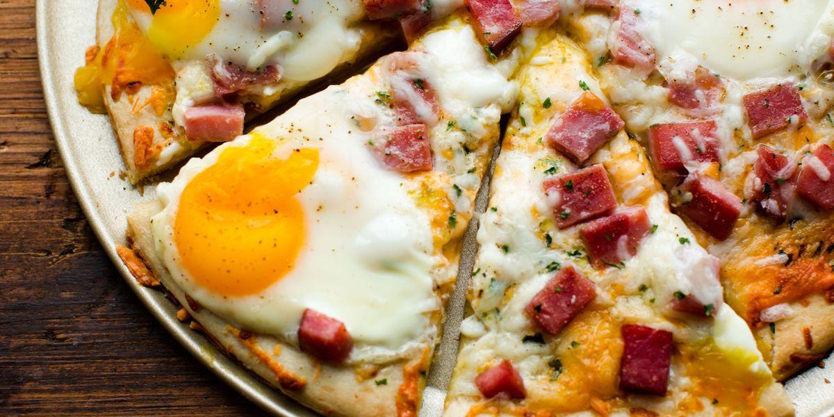 Best Ham Egg Amp Cheese Breakfast Pizza Recipe How To Make
