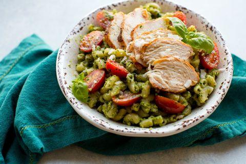 Kale Pesto Chicken Pasta Horizontal