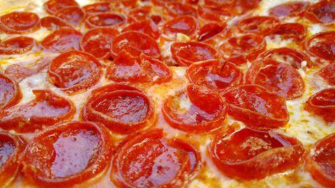 Pepperoni Pizza Horizontal