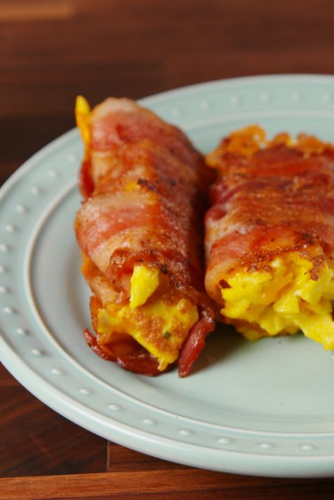 Bacon, Egg & Cheese Roll Ups Horizontal